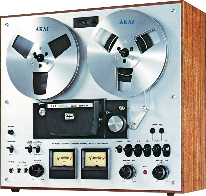 Magnetic tape player
