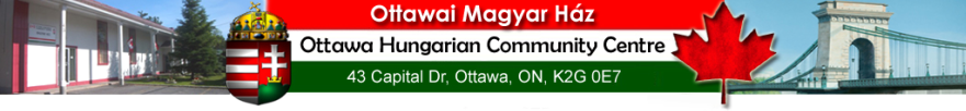 Ottawai Magyar Ház – Ottawa Hungarian Community Centre